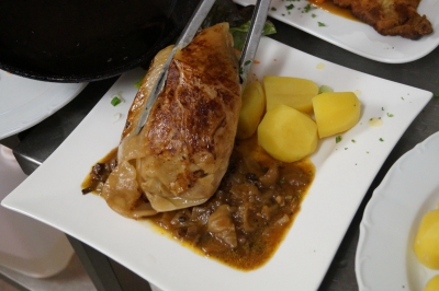 Riesenkohlroulade